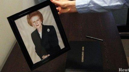 Прах Маргарет Тэтчер похоронен возле могилы ее мужа