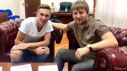 """Сидорчук продлил контракт с киевским """"Динамо"""""""
