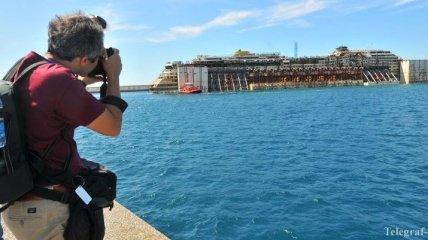 Costa Concordia доставили в Геную на демонтаж