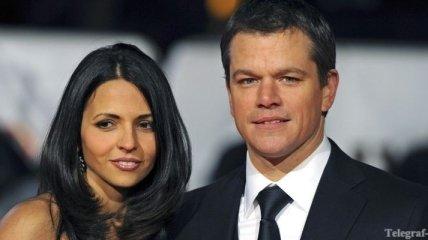 Мэтт Деймон устроил свадьбу после восьми лет официального брака