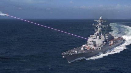 Флот США получит эсминец c мощным лазером (Фото)