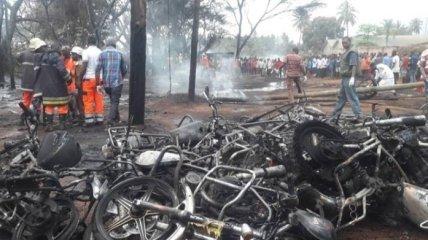 В Танзании взорвался бензовоз: жертв уже почти сотня