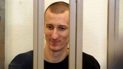 Кольченко на майские праздники был помещен в штрафной изолятор