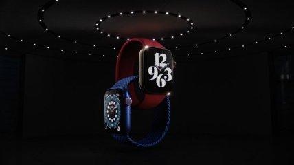 Apple показала новую версию умных часов Watch Series 6 (Фото)