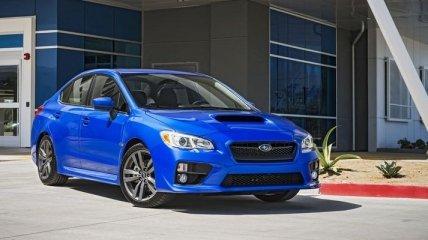 Subaru обновила седаны WRX и STI