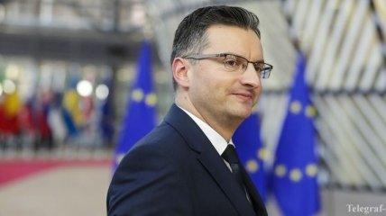 Экс-комик и премьер Словении Шарец отреагировал на участие Зеленского в выборах