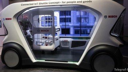 Компания Bosch заявила о запуске беспилотного транспорта