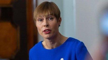 Президент Эстонии вернула дипломатам РФ подаренное Крымское вино