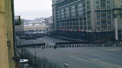 Опубликовано ранее неизвестное видео похорон Сталина (Видео)
