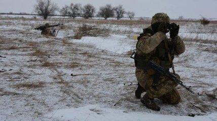 Ситуация в зоне ООС: украинский военный получил ранение