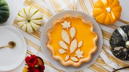 """""""Оранжевый"""" пирог способен поднять настроение в холодное время года."""
