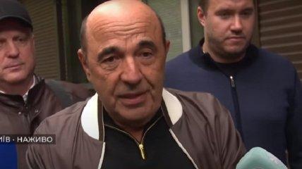 Рабинович заявил об отсутствии фактов, подтверждающих виновность Медведчука