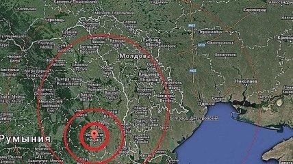 В Румынии у границы с Украиной произошло землетрясение