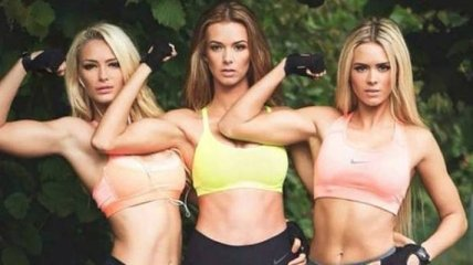 Три сестры-красавицы из Румынии покорили пользователей сети (Фото)