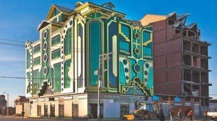 Незвичайні барвисті будинки міста Ель-Альто (Фото)