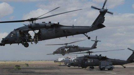 Падение вертолета США в Ираке: все военные погибли