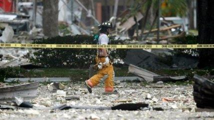 Во Флориде не менее 20 человек пострадали при взрыве ТЦ