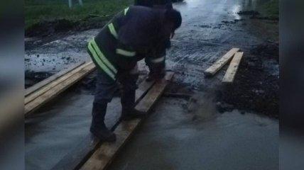 Не только град: на Одесчине второй день пытаются справиться с потопом (фото)