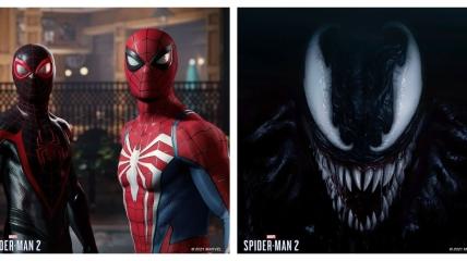 Постери до нової гри Marvel's Spider-Man 2