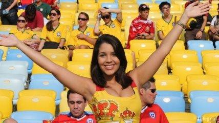 300 мгновений матча Испания - Чили