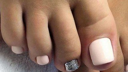 Педикюр 2019: нежный пастельный дизайн ногтей