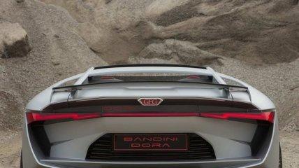 Итальянцы презентовали роскошный спортивный электрокар Bandini Dora (Фото)