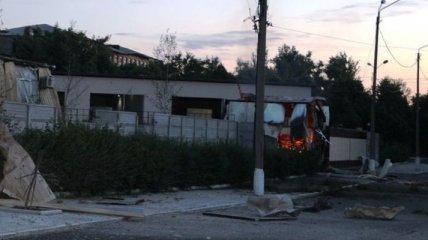 В Артемовске террористы штурмовали танковую часть