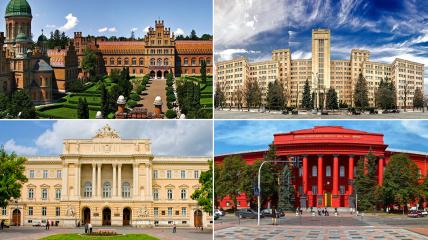В мировой рейтинг попали университеты из шести городов Украины.