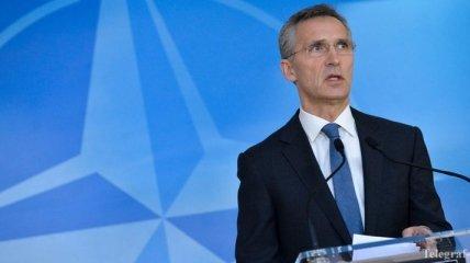 Столтенберг: НАТО будет поддерживать целостность всех государств Европы
