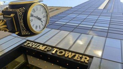 В Нью-Йорке произошло возгорание в здании Trump Tower
