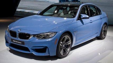 """Дебют """"заряженного"""" седана BMW M3 нового поколения"""