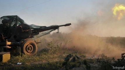Боевики обстреляли из гранатометов позиции сил АТО