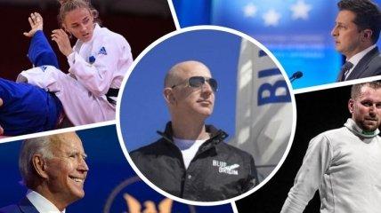 Главные события недели: Безос полетел в космос, в США определились с датой визита Зеленского, в Токио стартовала Олимпиада