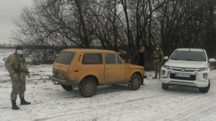 """Пограничники """"накрыли"""" крупную аферу на границе с Донбассом: преступление попало на видео"""