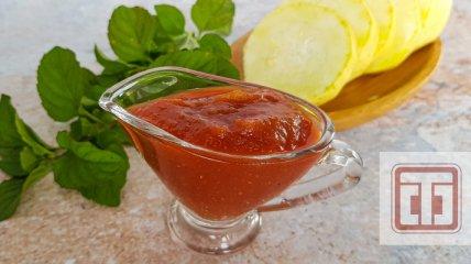 Кетчуп з кабачків: простий рецепт дуже смачного соусу