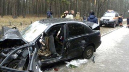 В Чернигове произошло ДТП: столкнулись два автомобиля