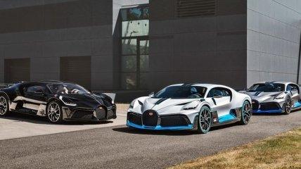 Bugatti отправила покупателям первые экземпляры гиперкара Divo (Фото)