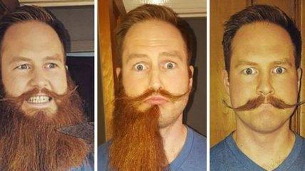 Как выглядят мужчины с бородой и без нее (Фото)