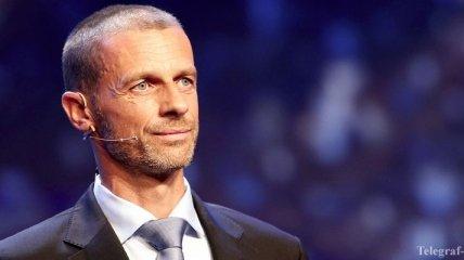 Президент УЕФА пообещал строго наказывать клубы, нарушающие финансовый фэйр-плей