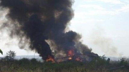 9 человек погибли в результате крушения вертолета Ми-8 под Славянском