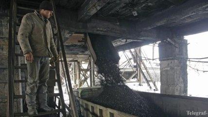 Украина значительно снизила добычу угля