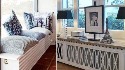Стильные примеры того, как можно спрятать батареи в доме (Фото)