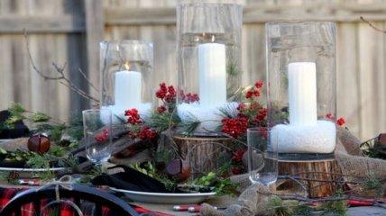 Рождественский декор создаст зимнюю сказку в доме