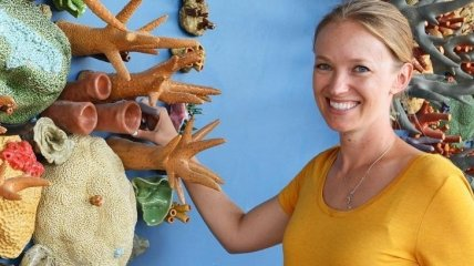 Изменение климата - это не сказки: американка создает невероятные скульптуры коралловых рифов