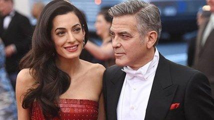 Джордж Клуни и его жена ждут ребенка