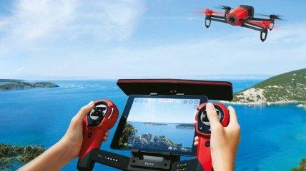 Квадрокоптеры Parrot работают на автопилоте (Видео)
