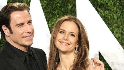 Брак Джона Траволты и Келли Престон дал трещину