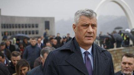 Президент Косово получил обвинения в совершении военных преступлений