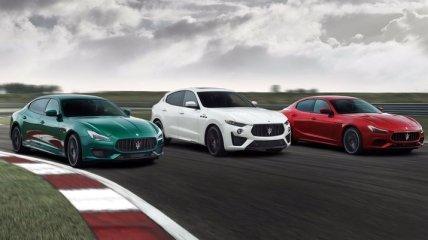Maserati представил мощнейшие седаны в своей истории: Ghibli и Quattroporte включены в линейку Trofeo (Фото)