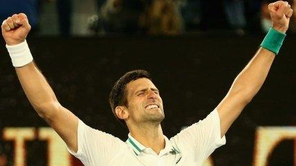 Джокович разбил россиянина в финале Australian Open (видео)